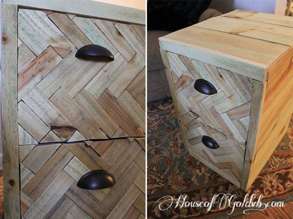 How to upcycle an old filing cabinet easy diy house of Upcycled metal filing cabinet