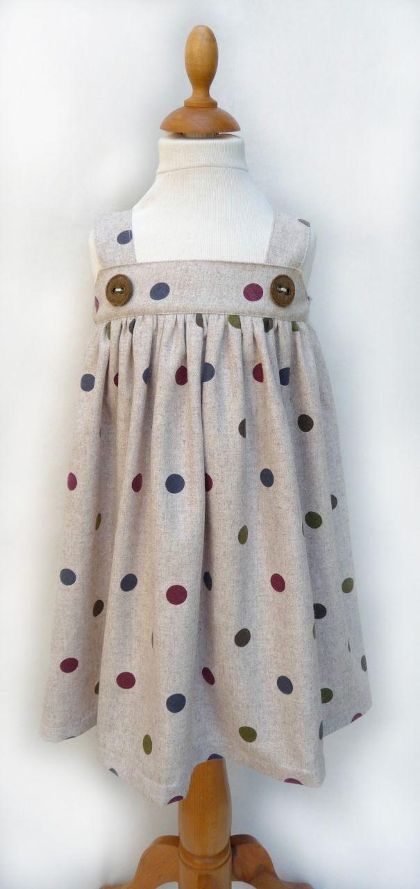 robe à pois .....j'adore les pois !!!
