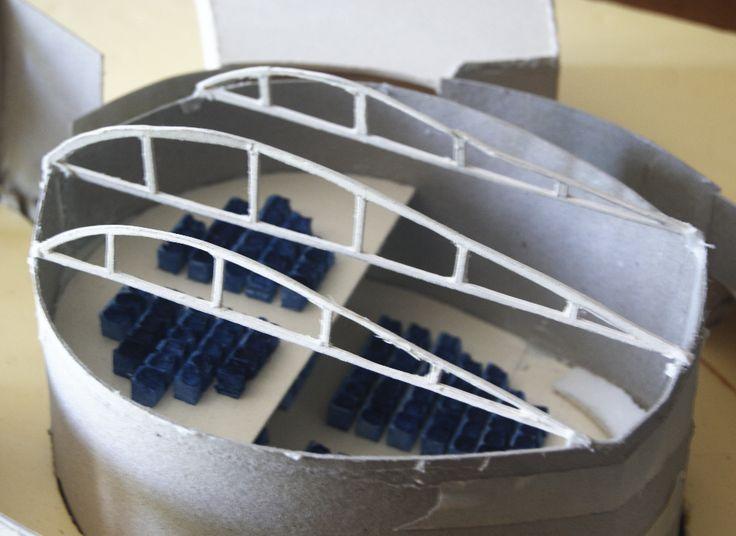 Convention centre - model