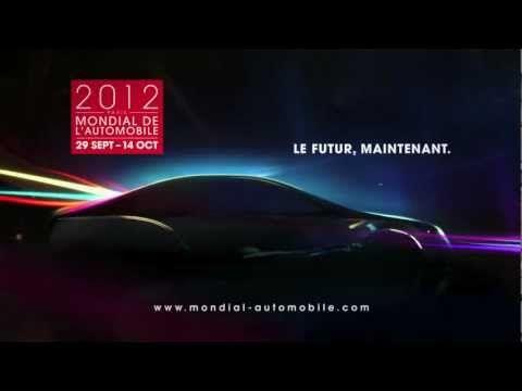 """La pub TV du Mondial de l'Auto 2012 s'accompagne du titre """"Speed Of Gravity"""" du duo français Egyptology."""