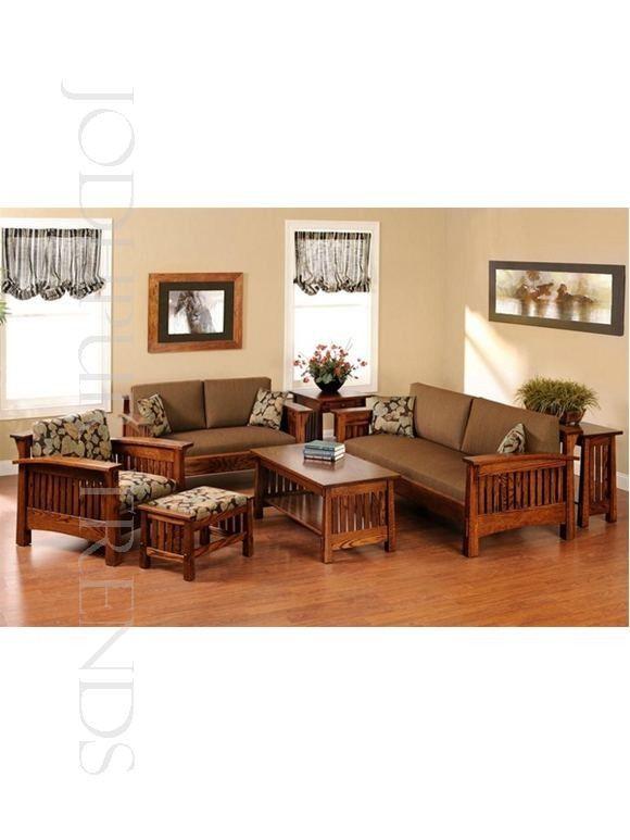 designer-sofa-manufacturer Made from sheesham wood this sofa set