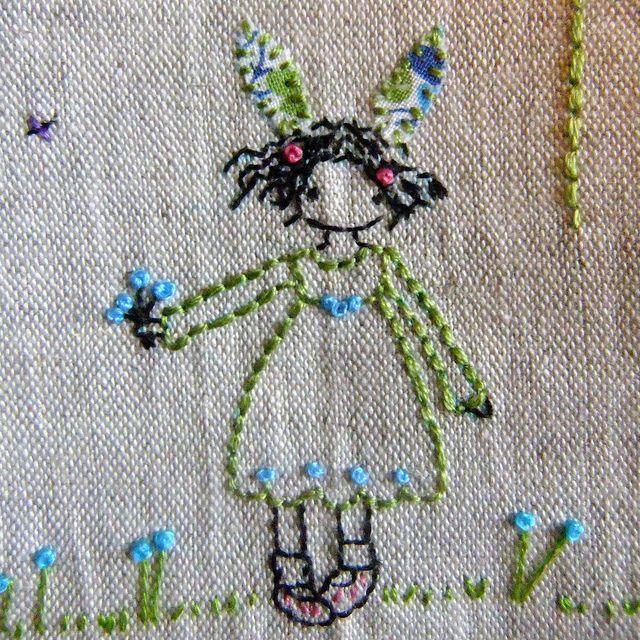 flower girl detail by lili_popo, via Flickr