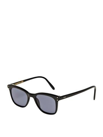 Cutler And Gross Unisex Black Frame Sunglasses