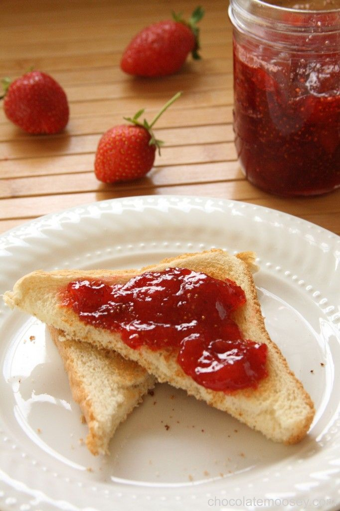 Small-Batch Strawberry Jam. Perfect recipe is if you want to start making jam, and it only makes one 6 ounce jar!