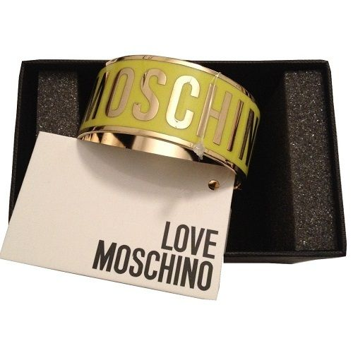 Made from sturdy metal, the Love Moschino Women's Logo Bracelet - Yellow will add a touch of vibrancy to any outfit. With 'Love Moschino' lettering that works around the bracelet, it allows for instant brand recognition. - L.M.Metal construction'Love Moschino' letteringBeautiful stunning bangleBrand New In Box