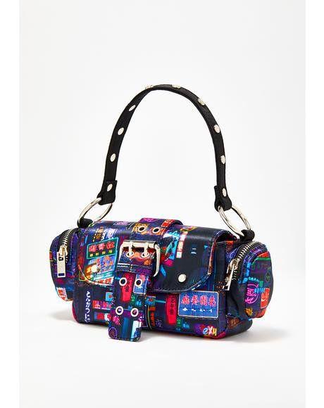 800b2f14a5b2 Midnight City Buckle Bag