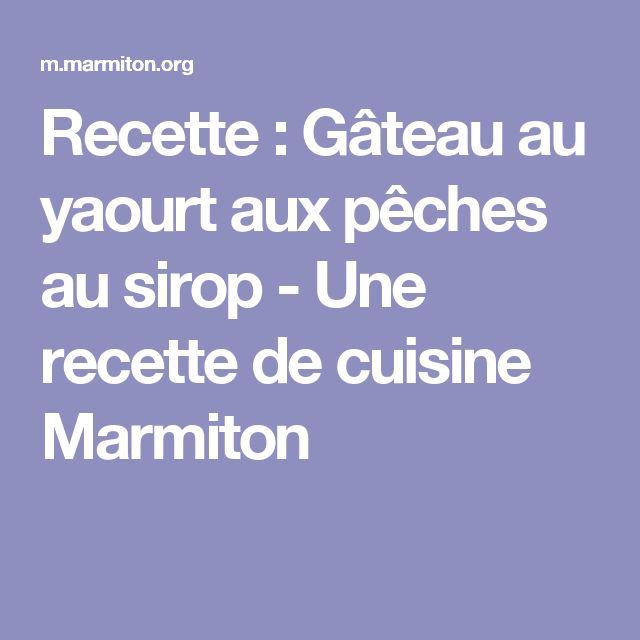 Marmiton gateau yaourt et chocolat