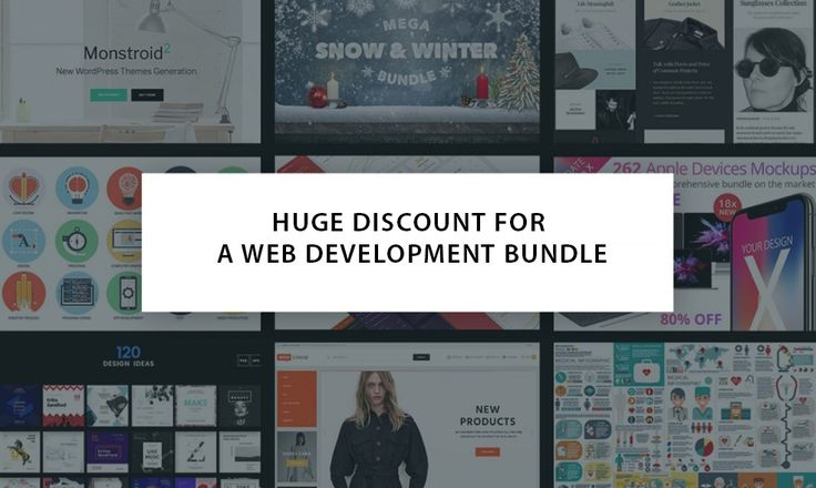Be Ready for December 11-15 to Get the First Bundle for Web Designers with 90% Discount.