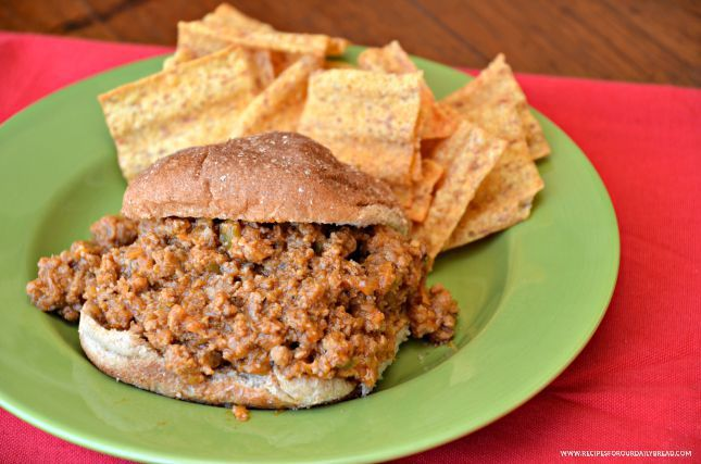 #Sloppy #Joes made from Scratch. Easy #delicious #dinner #recipe