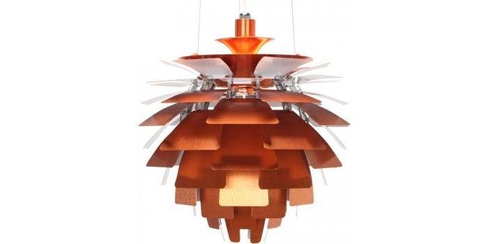 Poul Henningsen Konglen  Kobber - Copper - 45 cm