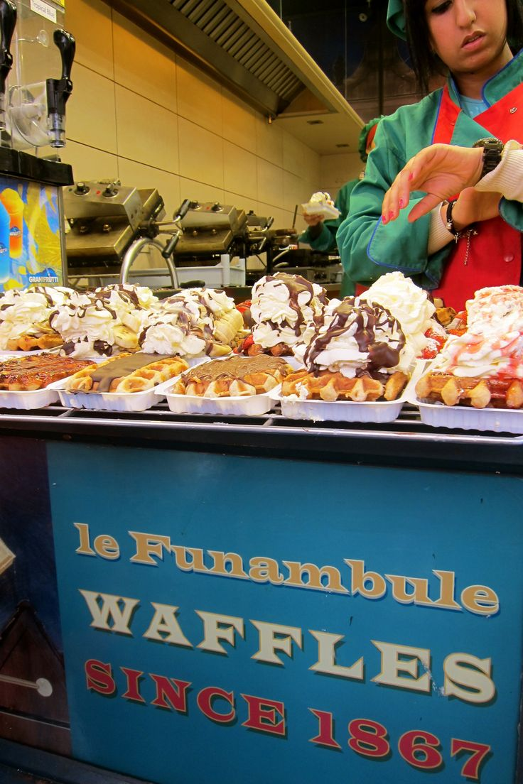 A real Belgian waffle