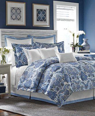 Tommy Bahama Porcelain Paradise California King Comforter Set
