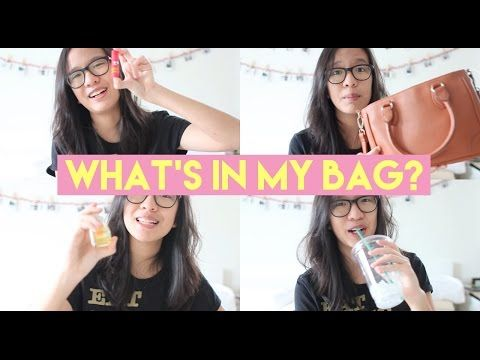 What's in My Bag? | KARINA - YouTube