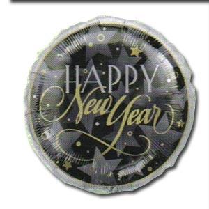 "New Year 18"" Mylar Balloon Enchanted Evening"