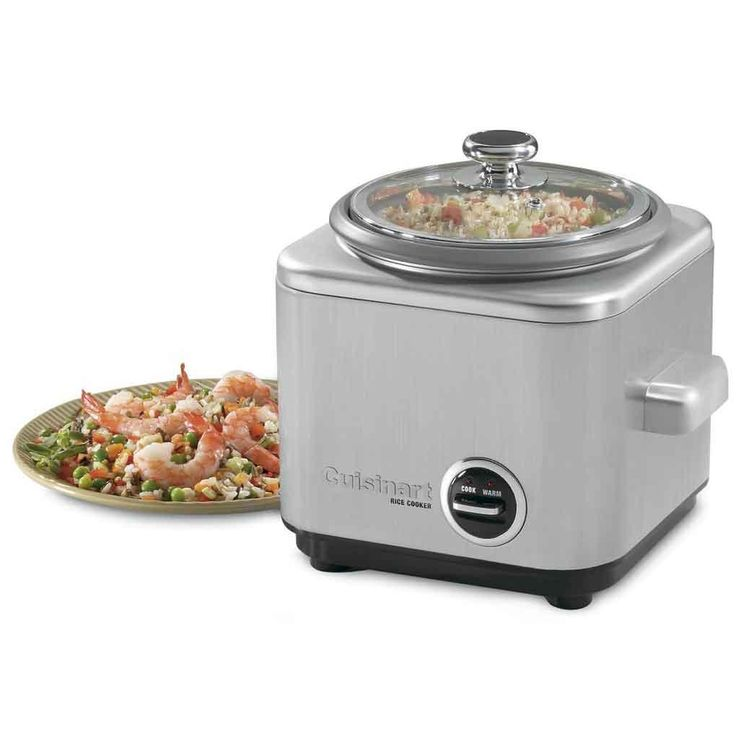 7 Cup Automatic Rice Cooker And Steamer Cuisinart: Rice & Food Steamers - Cayne's Super Housewares