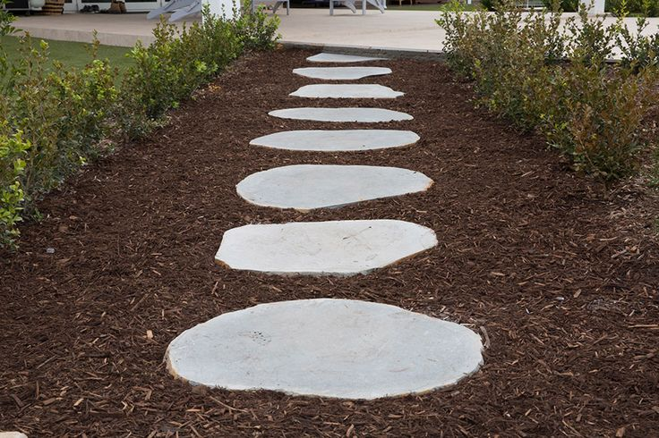 Armstone's Stepping Stones are cut from very dense Bluestone boulders which allows you to simply put it anywhere on the soil or grass. #steppingstones  http://www.armstone.com.au/products/stepping-stones/avatar-bluestone/
