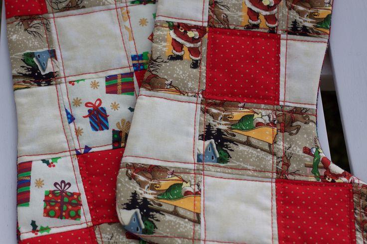 la metà di Natale / Christmas sock / Christmas boot / Avvio di Natale
