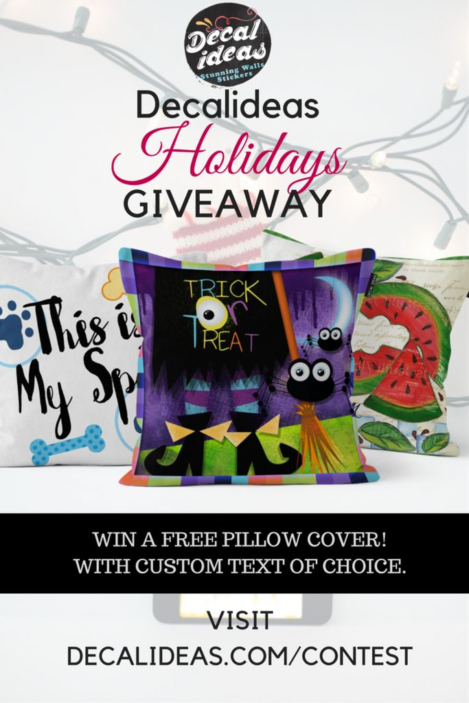 HOLIDAY COMPETITION WIN A FREE DECAL - HOLIDAY GIVEAWAY