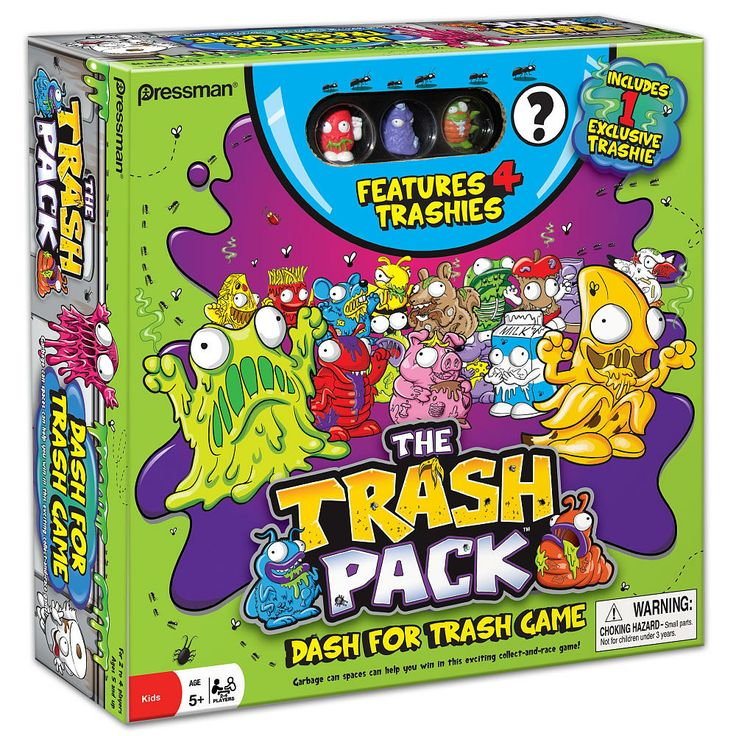 The Trash Pack board game. Owen