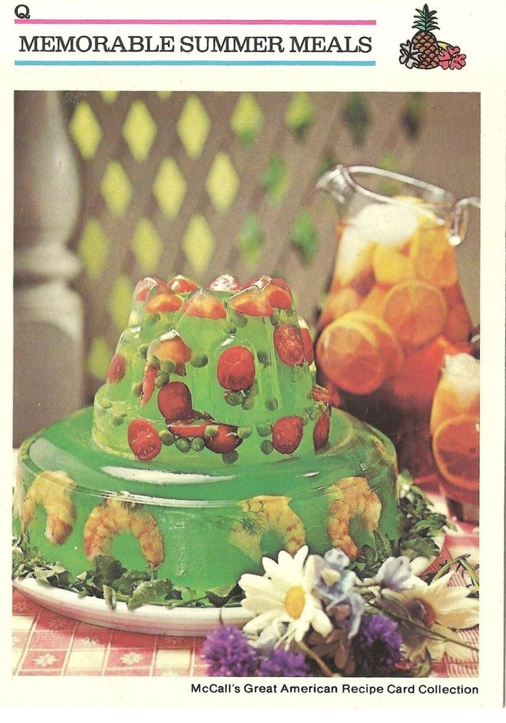 The Bad and Ugly of Retro Food.  Is that shrimp in the Jello???!! Wait... I think I see some goldfish. My kids are going to love this.  Think I will serve it with some Kool Aid and Spam.