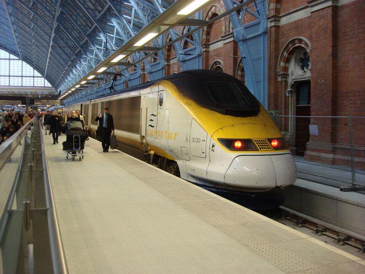 Taking the Eurostar to Disneyland Paris