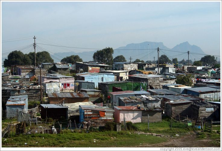 Khayelitsha Township Cape Town, South Africa - this is where I worked on summer while studying at Eastern