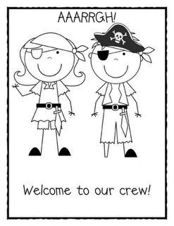 pirate coloring sheet