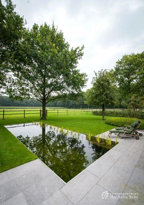 25 beste idee n over tuin waterpartijen op pinterest waterornamenten tuin water fonteinen en - Aangelegde tuin ideeen ...