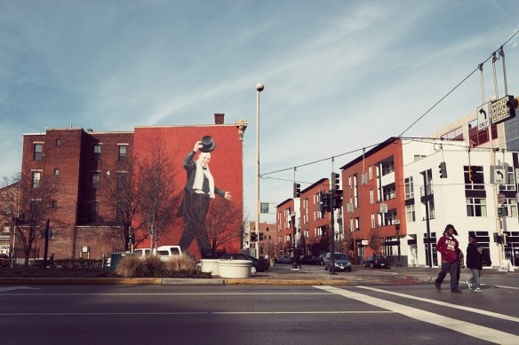 Cincinnati Street Art. I've seen this one in person!
