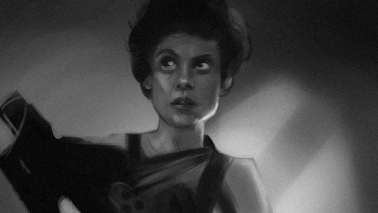 #ripley #nostromo #alien #ridleyscott #ellenripley #valuestudy