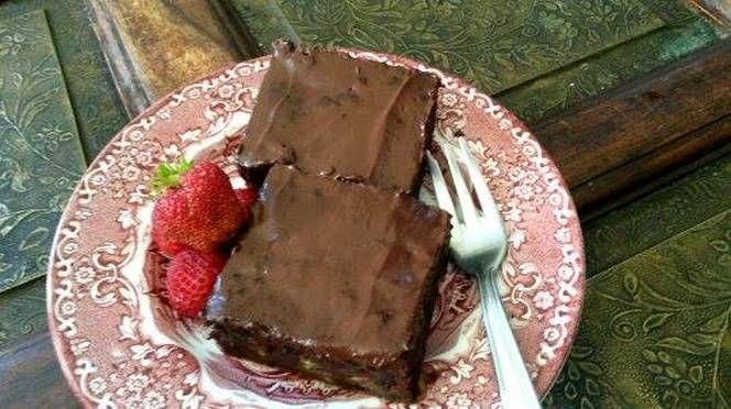 Cukkinis csokitorta