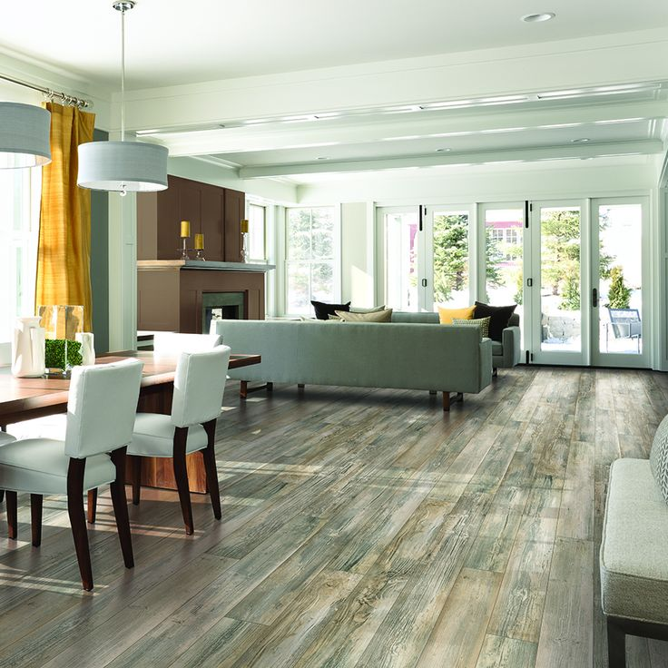 Shop Pergo MAX Premier Handscraped Pine Wood Planks Sample Newport At Lowes