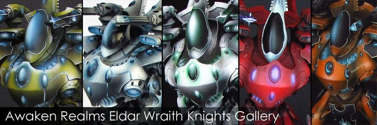 Eldar Wraith Knights