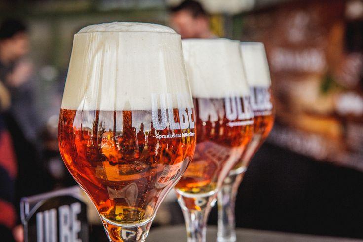 Overheerlijk ULBE bier vind je alleen bij ons in DeFabrique. Het door ons gebrouwen ULBE bier is verrassend en stevig bier van hoge gisting en heeft een alcoholpercentage van 6,9%. Tonen van fruit, kruiden en hop geven dit amberkleurige bier karakter.