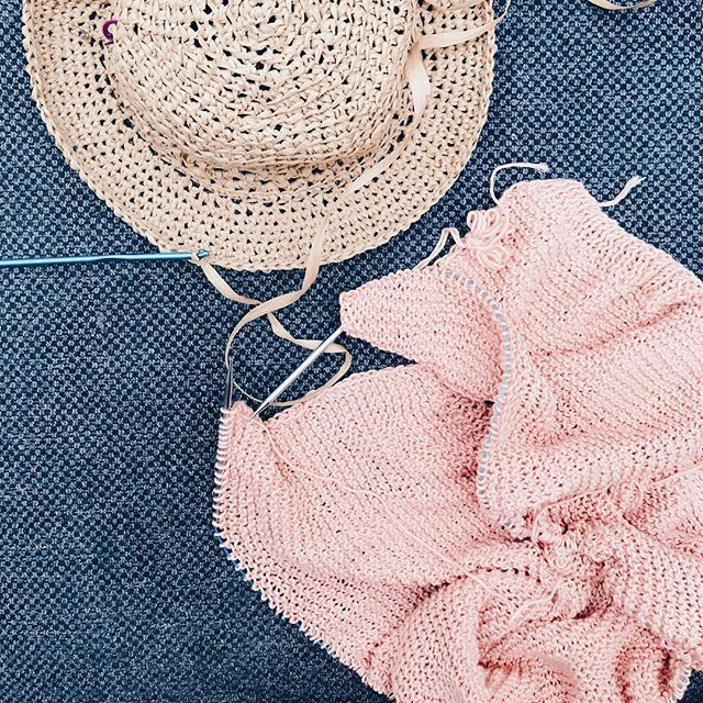 67e90256198 I am so excited that this hat brim is finally starting to lay flat Ive  promised myself no new projects commissions or swatches until I finish  these two wips ...
