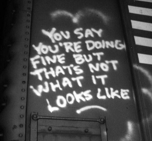 Graffiti Sad Quotes