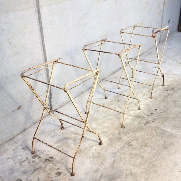 Small French Trestles | e l l a g u r u