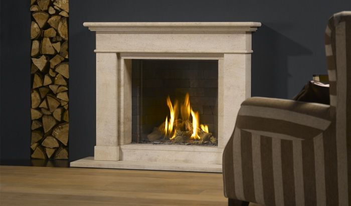 flueless gas fireplace