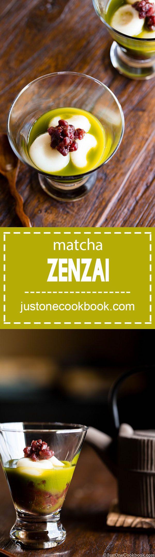 Matcha Zenzai (抹茶ぜんざい) | Easy Japanese Recipes at JustOneCookbook.com