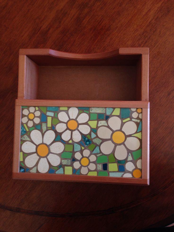 Servilletero, mi mosaico