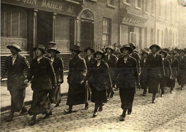 The women of Sinn Fein October 1920 Dublin