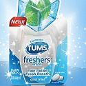 Don't let bad breath make a bad impression; get a FREE sample of TUMS freshers to tame your tummy while taming your breath