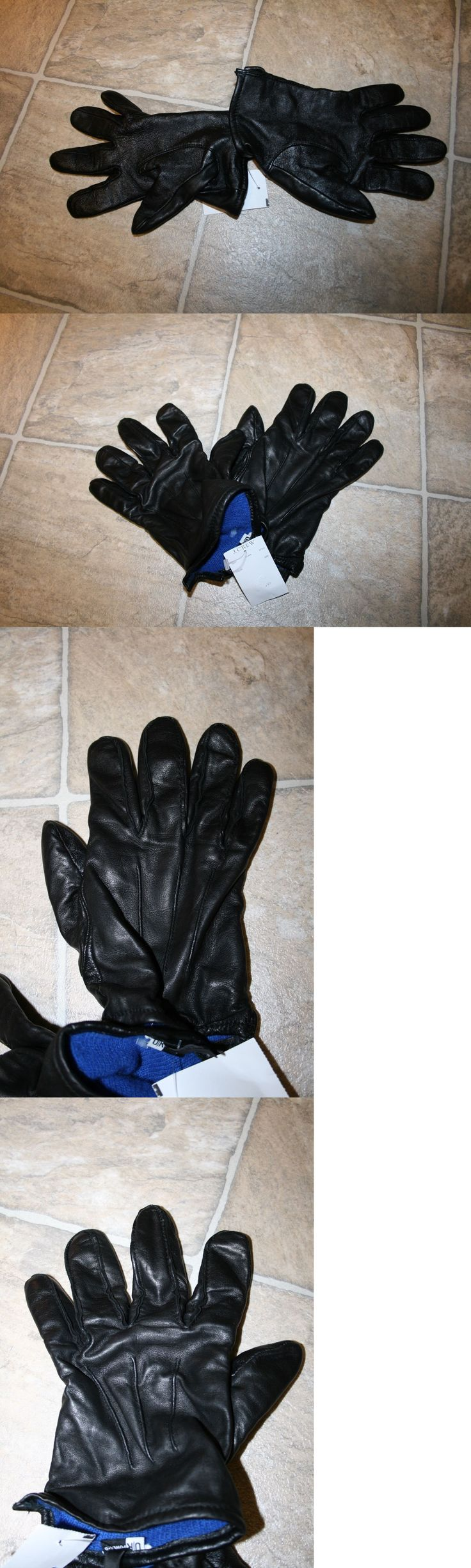 Gloves and Mittens 169278: New J. Crew Cashmere-Lined Leather Smartphone Gloves Black Size Small -> BUY IT NOW ONLY: $39.99 on eBay!