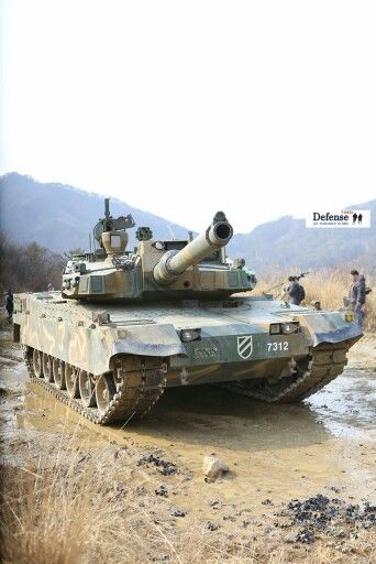 K2 Black Panther in the field