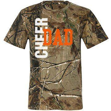 Cheer Dad : Bow Season | Cheer Dad: It's Bow Season Design Camo T-Shirt