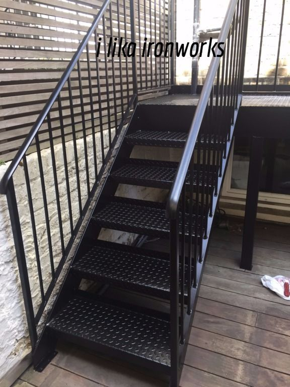 Metal Staircases And Balconies Exterior Stair Railing Exterior