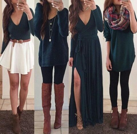 fashion, outfit, and dress Bild