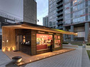 TV Towers Vancouver - Local Cafes - JJ Bean on Hamilton St - CBC