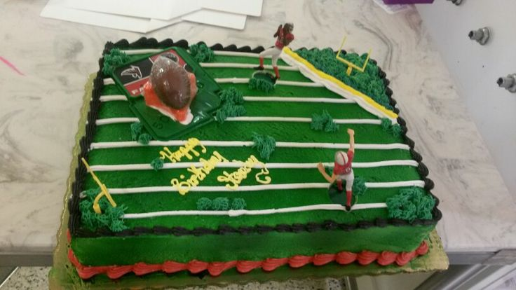 Atlanta Falcons Cake Publix Cakes Pinterest Atlanta