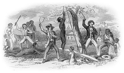 Slave beating on Jamaica